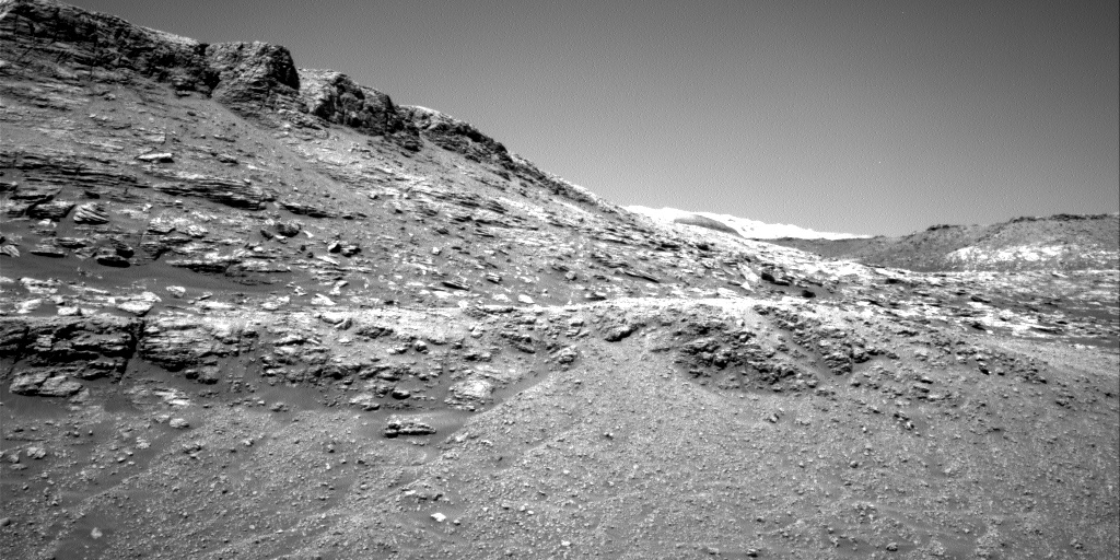 Nasa's Mars rover Curiosity acquired this image using its Right Navigation Camera on Sol 2592, at drive 2254, site number 77