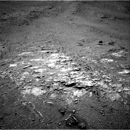 Nasa's Mars rover Curiosity acquired this image using its Right Navigation Camera on Sol 2592, at drive 2278, site number 77