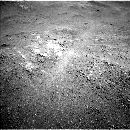 Nasa's Mars rover Curiosity acquired this image using its Left Navigation Camera on Sol 2593, at drive 2540, site number 77