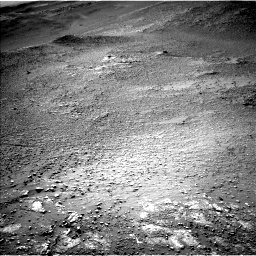 Nasa's Mars rover Curiosity acquired this image using its Left Navigation Camera on Sol 2595, at drive 2654, site number 77