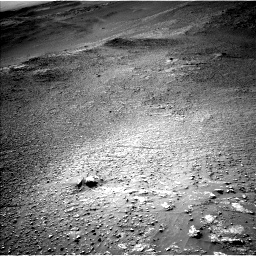 Nasa's Mars rover Curiosity acquired this image using its Left Navigation Camera on Sol 2595, at drive 2666, site number 77