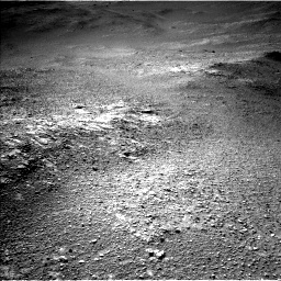 Nasa's Mars rover Curiosity acquired this image using its Left Navigation Camera on Sol 2595, at drive 2702, site number 77