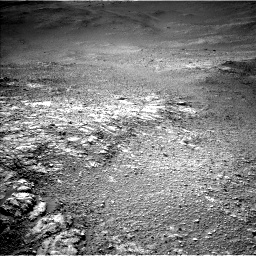 Nasa's Mars rover Curiosity acquired this image using its Left Navigation Camera on Sol 2595, at drive 2708, site number 77
