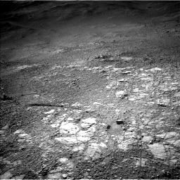 Nasa's Mars rover Curiosity acquired this image using its Left Navigation Camera on Sol 2595, at drive 2726, site number 77