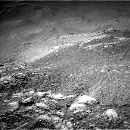 Nasa's Mars rover Curiosity acquired this image using its Left Navigation Camera on Sol 2595, at drive 2774, site number 77