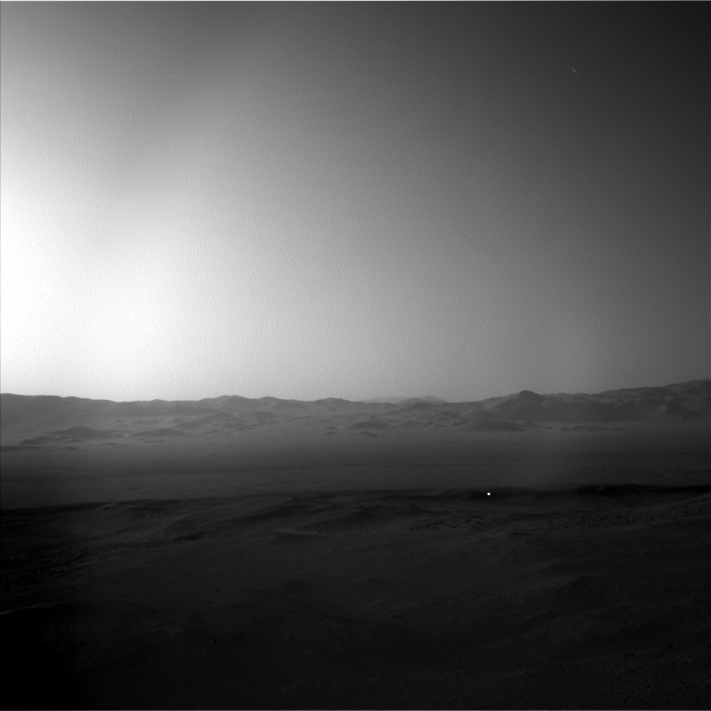 Nasa's Mars rover Curiosity acquired this image using its Left Navigation Camera on Sol 2595, at drive 2786, site number 77