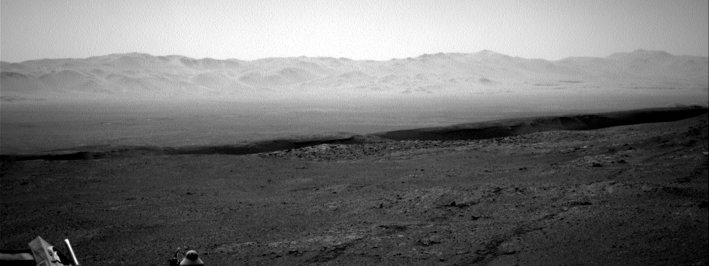 Nasa's Mars rover Curiosity acquired this image using its Right Navigation Camera on Sol 2595, at drive 2540, site number 77