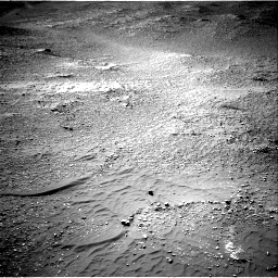 Nasa's Mars rover Curiosity acquired this image using its Right Navigation Camera on Sol 2595, at drive 2636, site number 77