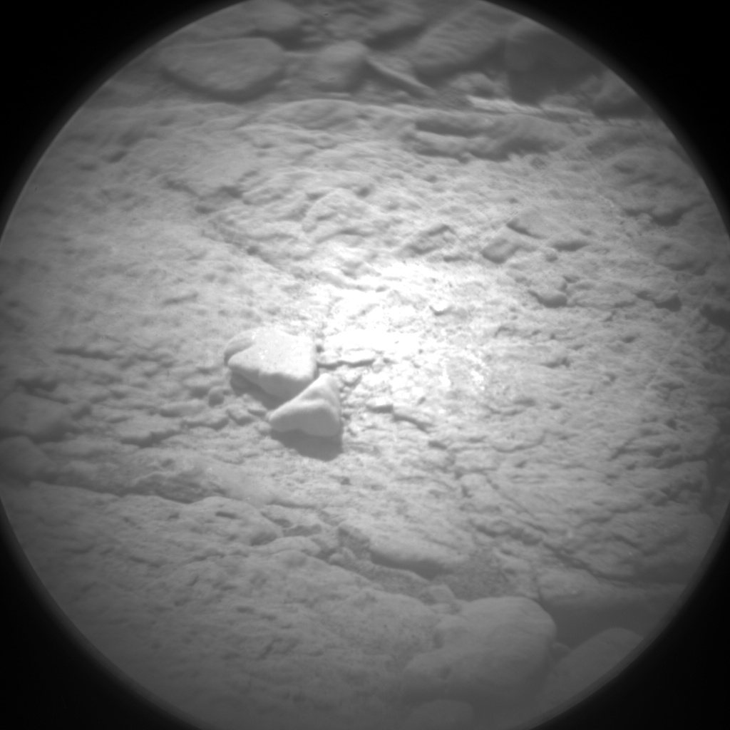 Nasa's Mars rover Curiosity acquired this image using its Chemistry & Camera (ChemCam) on Sol 2596, at drive 2786, site number 77