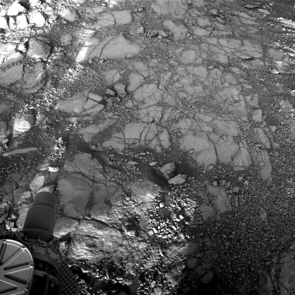 Nasa's Mars rover Curiosity acquired this image using its Right Navigation Camera on Sol 2596, at drive 2786, site number 77
