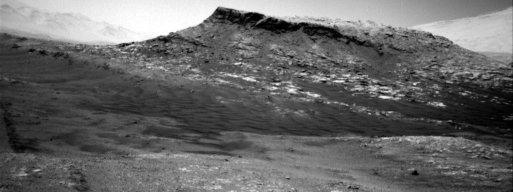 Nasa's Mars rover Curiosity acquired this image using its Right Navigation Camera on Sol 2598, at drive 2786, site number 77