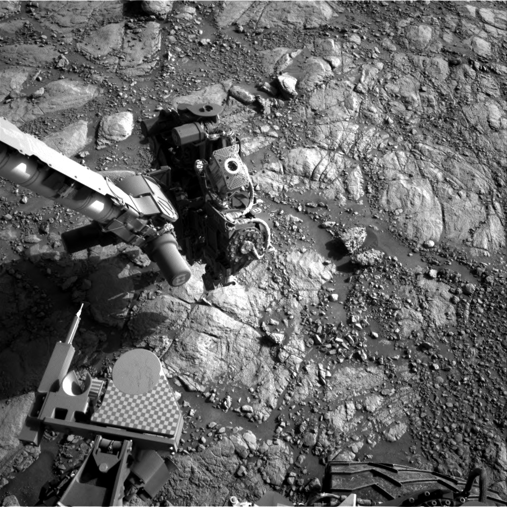Nasa's Mars rover Curiosity acquired this image using its Right Navigation Camera on Sol 2601, at drive 2786, site number 77