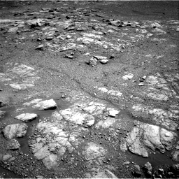 Nasa's Mars rover Curiosity acquired this image using its Right Navigation Camera on Sol 2602, at drive 2870, site number 77