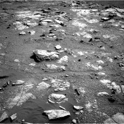 Nasa's Mars rover Curiosity acquired this image using its Right Navigation Camera on Sol 2602, at drive 2936, site number 77