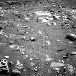 Nasa's Mars rover Curiosity acquired this image using its Right Navigation Camera on Sol 2602, at drive 2948, site number 77
