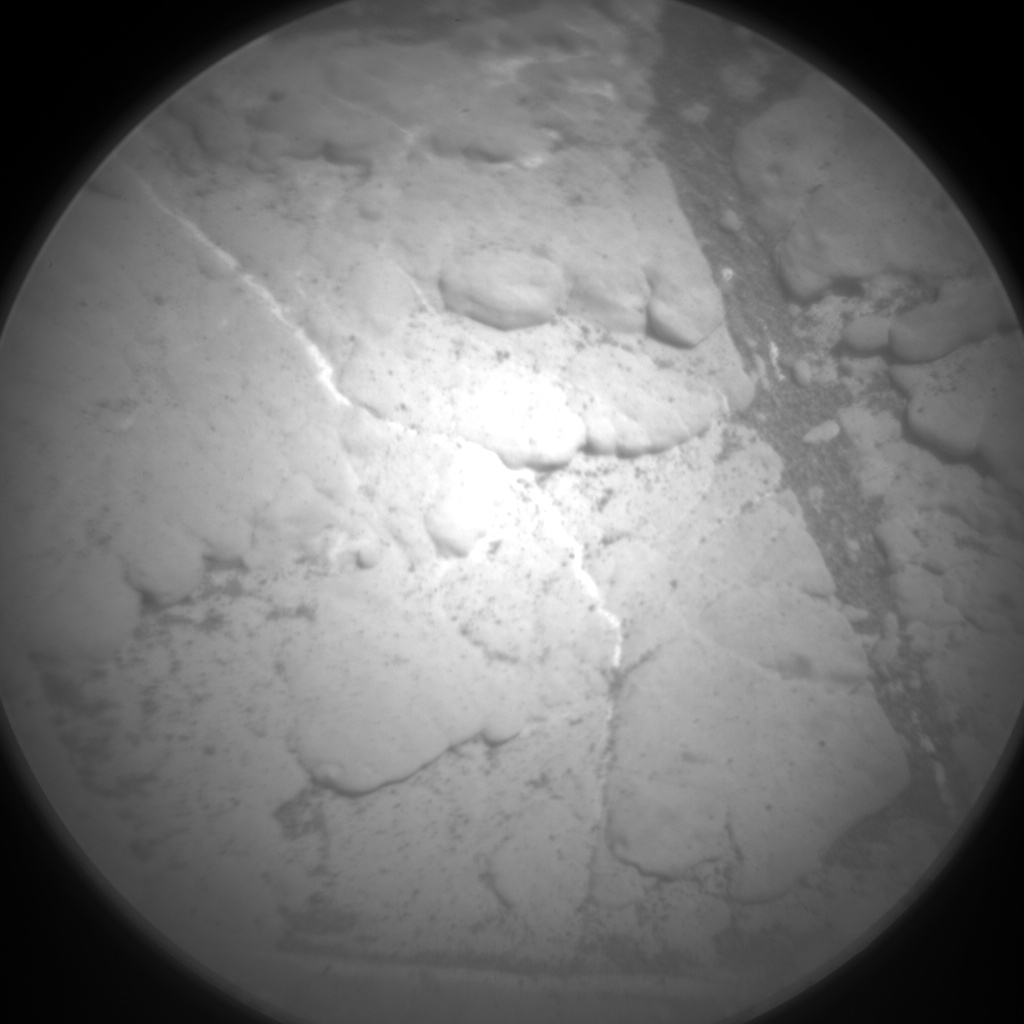 Nasa's Mars rover Curiosity acquired this image using its Chemistry & Camera (ChemCam) on Sol 2604, at drive 2954, site number 77