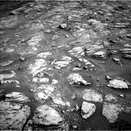 Nasa's Mars rover Curiosity acquired this image using its Left Navigation Camera on Sol 2604, at drive 2978, site number 77