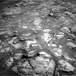 Nasa's Mars rover Curiosity acquired this image using its Left Navigation Camera on Sol 2604, at drive 2984, site number 77