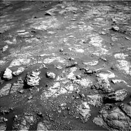 Nasa's Mars rover Curiosity acquired this image using its Left Navigation Camera on Sol 2604, at drive 2990, site number 77
