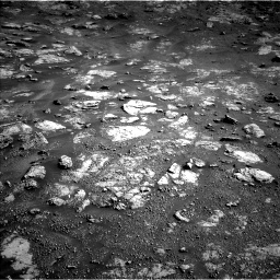 Nasa's Mars rover Curiosity acquired this image using its Left Navigation Camera on Sol 2604, at drive 3032, site number 77