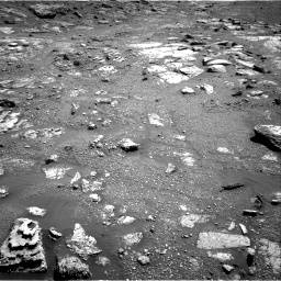 Nasa's Mars rover Curiosity acquired this image using its Right Navigation Camera on Sol 2604, at drive 2954, site number 77