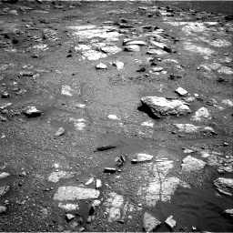 Nasa's Mars rover Curiosity acquired this image using its Right Navigation Camera on Sol 2604, at drive 2960, site number 77