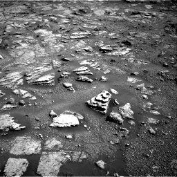 Nasa's Mars rover Curiosity acquired this image using its Right Navigation Camera on Sol 2604, at drive 2972, site number 77