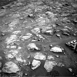 Nasa's Mars rover Curiosity acquired this image using its Right Navigation Camera on Sol 2604, at drive 2978, site number 77