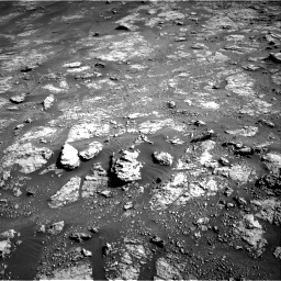 Nasa's Mars rover Curiosity acquired this image using its Right Navigation Camera on Sol 2604, at drive 2996, site number 77
