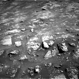 Nasa's Mars rover Curiosity acquired this image using its Right Navigation Camera on Sol 2604, at drive 3002, site number 77