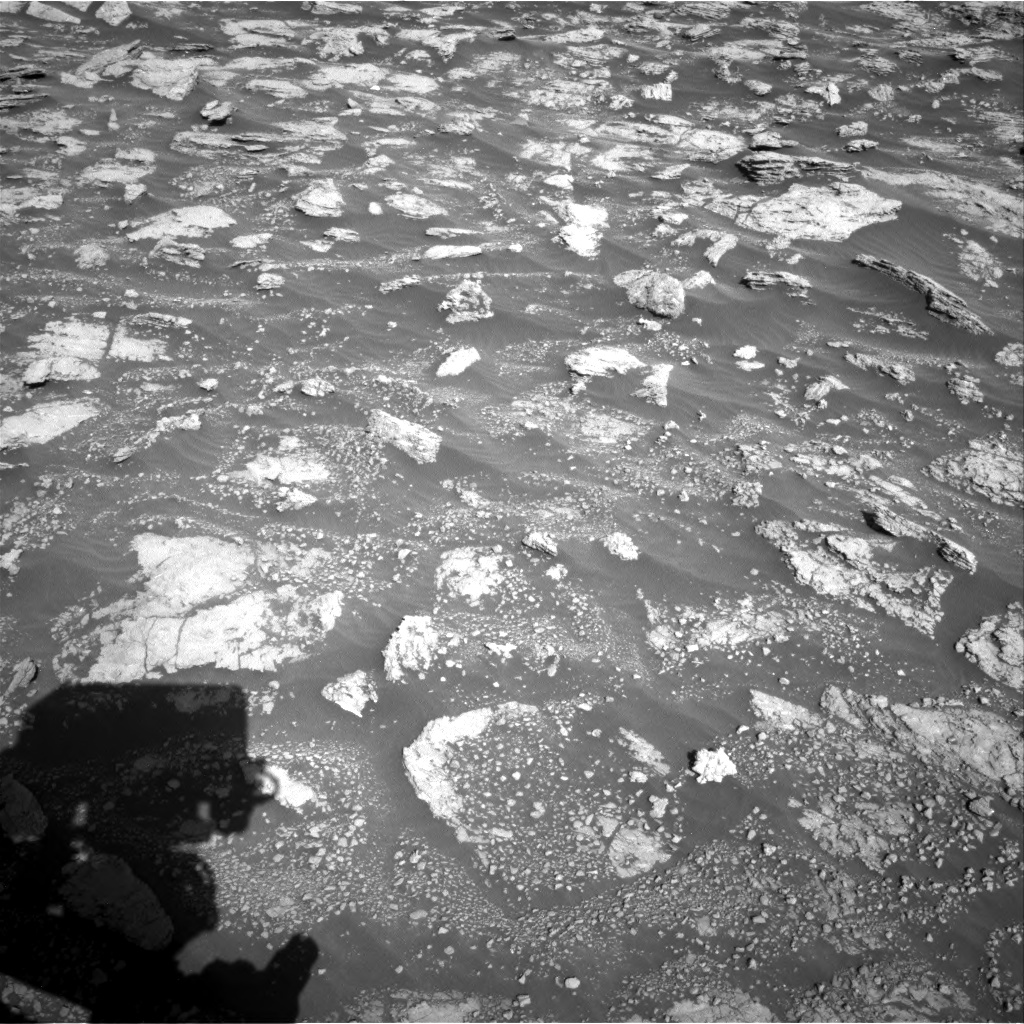 Nasa's Mars rover Curiosity acquired this image using its Right Navigation Camera on Sol 2604, at drive 3050, site number 77
