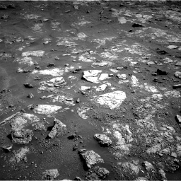 Nasa's Mars rover Curiosity acquired this image using its Right Navigation Camera on Sol 2604, at drive 3062, site number 77
