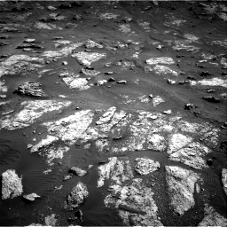 Nasa's Mars rover Curiosity acquired this image using its Right Navigation Camera on Sol 2604, at drive 3080, site number 77