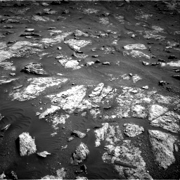 Nasa's Mars rover Curiosity acquired this image using its Right Navigation Camera on Sol 2604, at drive 3086, site number 77