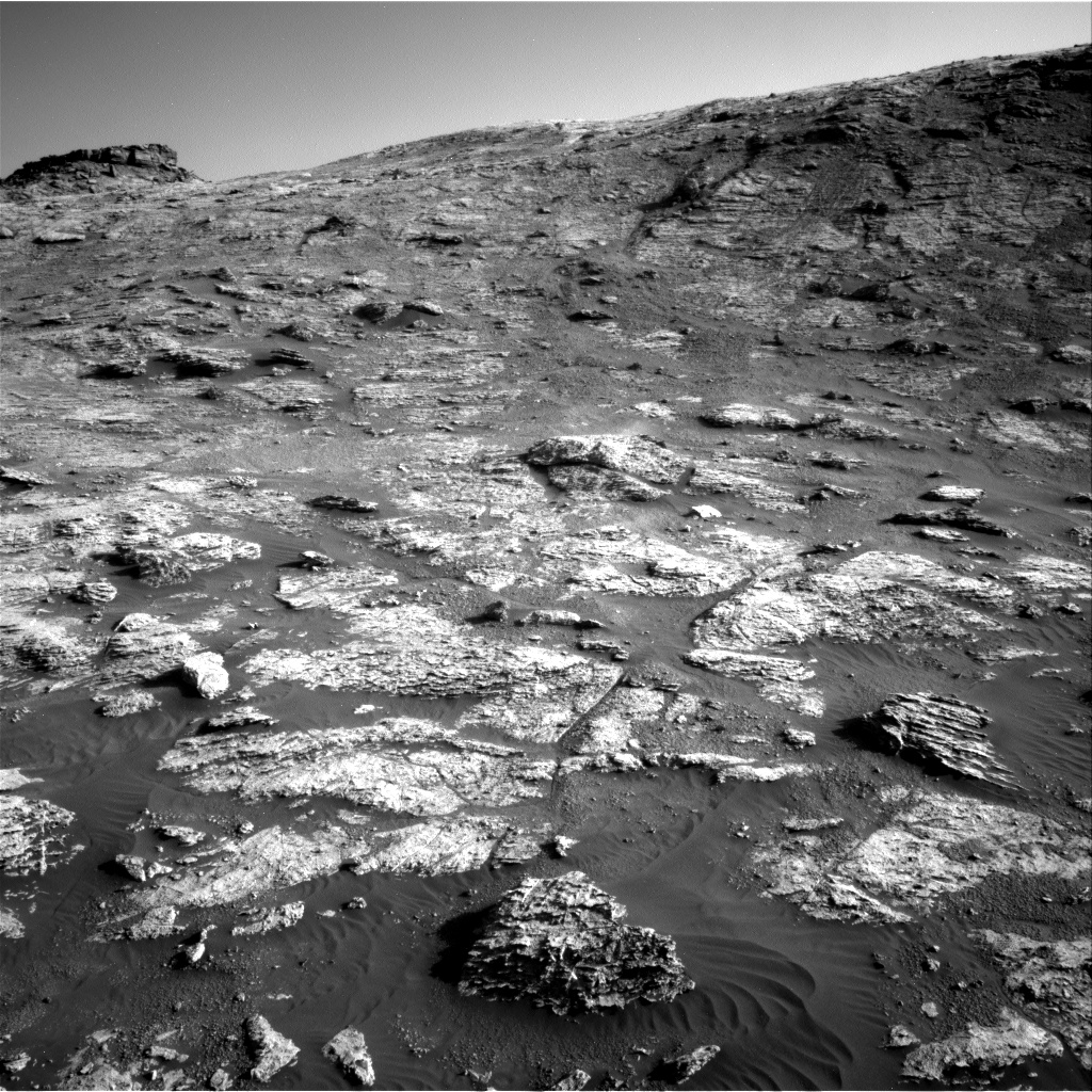 Nasa's Mars rover Curiosity acquired this image using its Right Navigation Camera on Sol 2604, at drive 0, site number 78