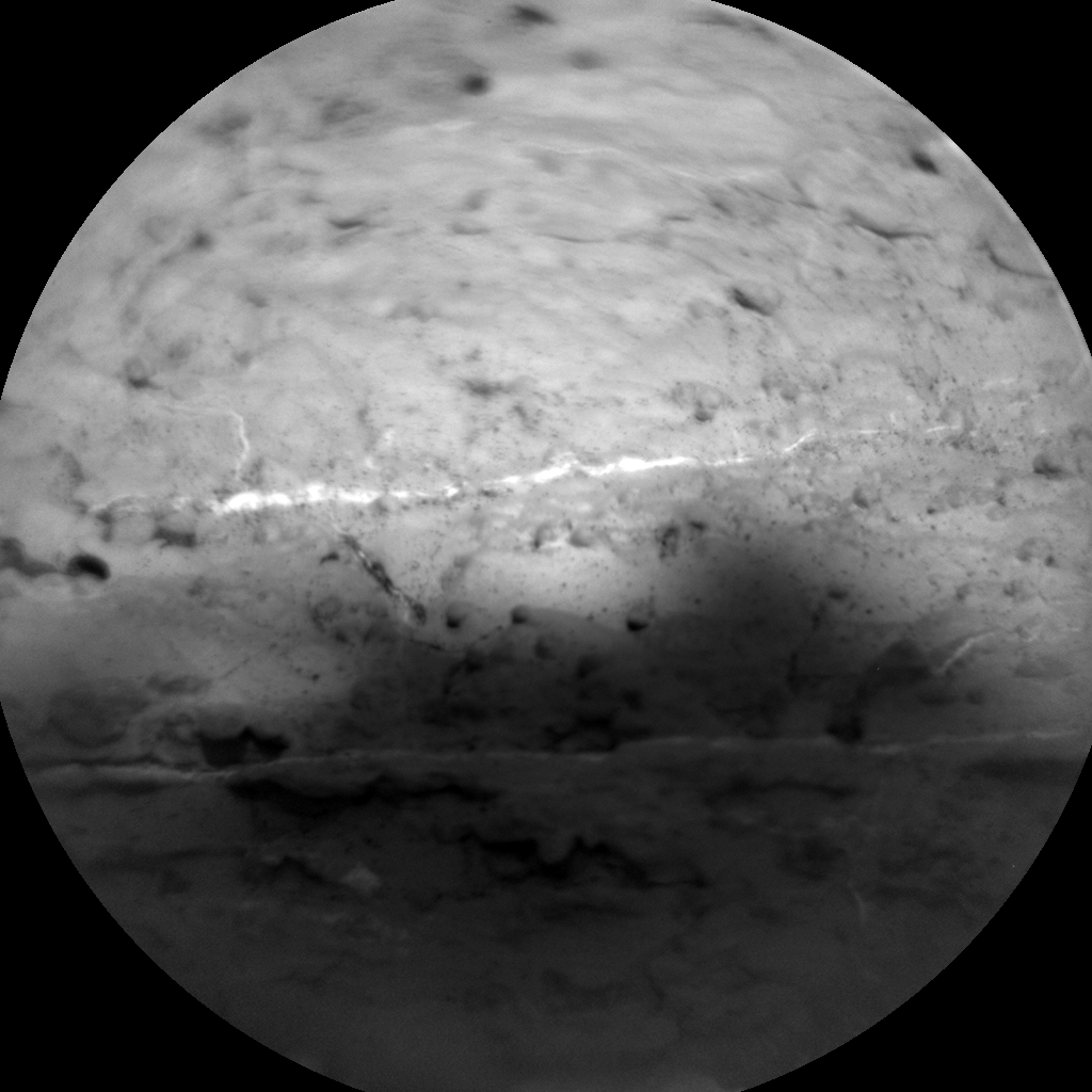 Nasa's Mars rover Curiosity acquired this image using its Chemistry & Camera (ChemCam) on Sol 2605, at drive 0, site number 78