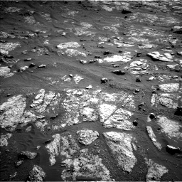 Nasa's Mars rover Curiosity acquired this image using its Left Navigation Camera on Sol 2606, at drive 6, site number 78