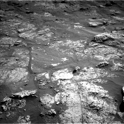 Nasa's Mars rover Curiosity acquired this image using its Left Navigation Camera on Sol 2606, at drive 78, site number 78