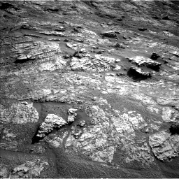 Nasa's Mars rover Curiosity acquired this image using its Left Navigation Camera on Sol 2606, at drive 120, site number 78