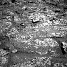 Nasa's Mars rover Curiosity acquired this image using its Left Navigation Camera on Sol 2606, at drive 138, site number 78
