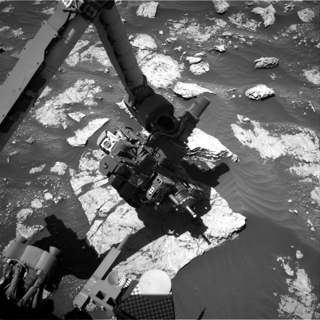 Nasa's Mars rover Curiosity acquired this image using its Right Navigation Camera on Sol 2606, at drive 0, site number 78