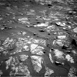 Nasa's Mars rover Curiosity acquired this image using its Right Navigation Camera on Sol 2606, at drive 6, site number 78
