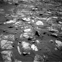 Nasa's Mars rover Curiosity acquired this image using its Right Navigation Camera on Sol 2606, at drive 12, site number 78