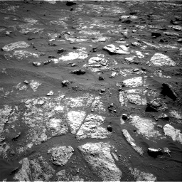 Nasa's Mars rover Curiosity acquired this image using its Right Navigation Camera on Sol 2606, at drive 18, site number 78