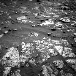 Nasa's Mars rover Curiosity acquired this image using its Right Navigation Camera on Sol 2606, at drive 24, site number 78