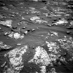 Nasa's Mars rover Curiosity acquired this image using its Right Navigation Camera on Sol 2606, at drive 36, site number 78