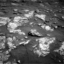 Nasa's Mars rover Curiosity acquired this image using its Right Navigation Camera on Sol 2606, at drive 48, site number 78