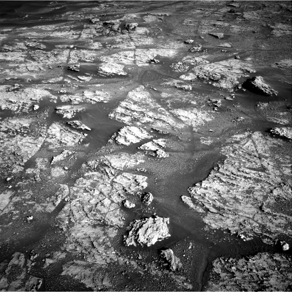 Nasa's Mars rover Curiosity acquired this image using its Right Navigation Camera on Sol 2606, at drive 102, site number 78