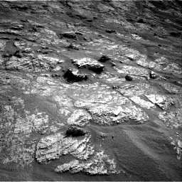 Nasa's Mars rover Curiosity acquired this image using its Right Navigation Camera on Sol 2606, at drive 114, site number 78