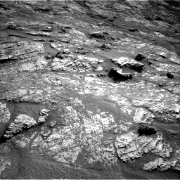 Nasa's Mars rover Curiosity acquired this image using its Right Navigation Camera on Sol 2606, at drive 120, site number 78